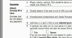 How-to-Complete-a-1040EZ-Tax-Form-1040EZ-Income-Section-Tips