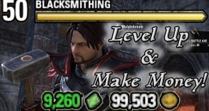 Level-up-in-Blacksmithing-WHILE-Making-Money-Elder-Scrolls-Online-Quick-Tips-for-PC-PS4-and-XB1