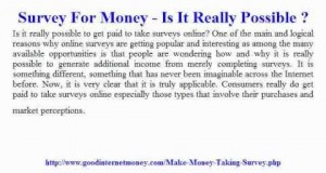 Survey-For-Money-Is-It-Really-Possible