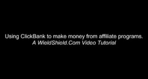 Earn an Online Income, With ClickBank