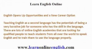 Importance of Teaching the English Language As Source of Income