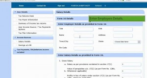 Income Tax Returns Filing Online By Upload Form16.mp4