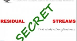 Residual Income Online Secret Training – VIP Finance Education
